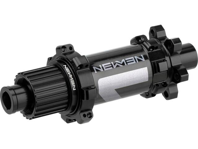 NEWMEN MTB Achternaaf 12X142 mm 6-bouts Shimano MicroSpline Gen2, zwart
